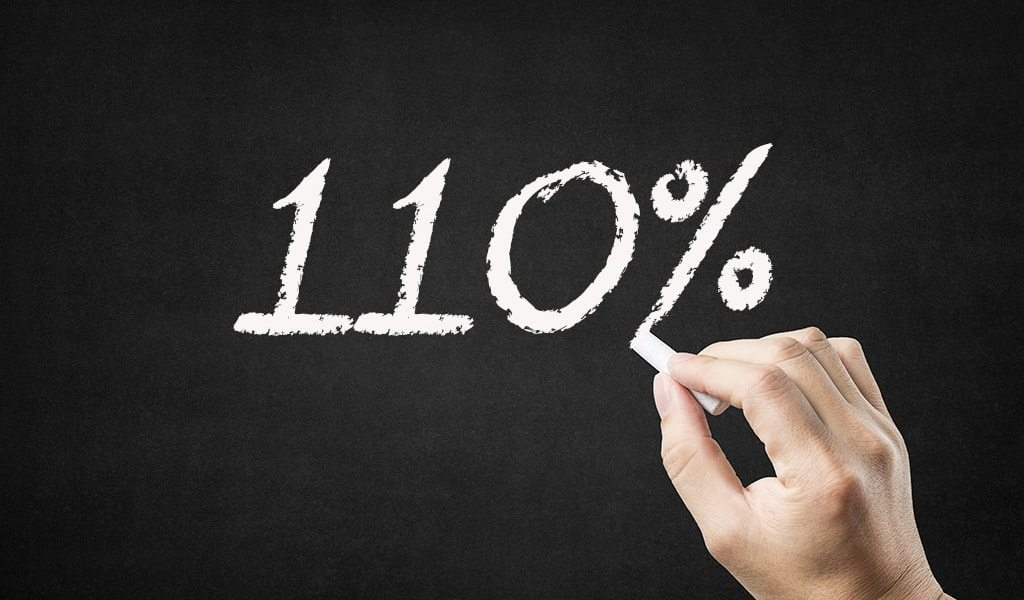 Asking for 110% won't lead to high performing teams