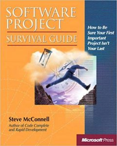 Software Project Survival Guide Steve McConnell