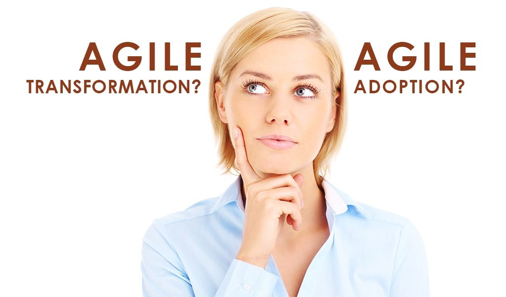 Do You Want Agile Adoption or Transformation?