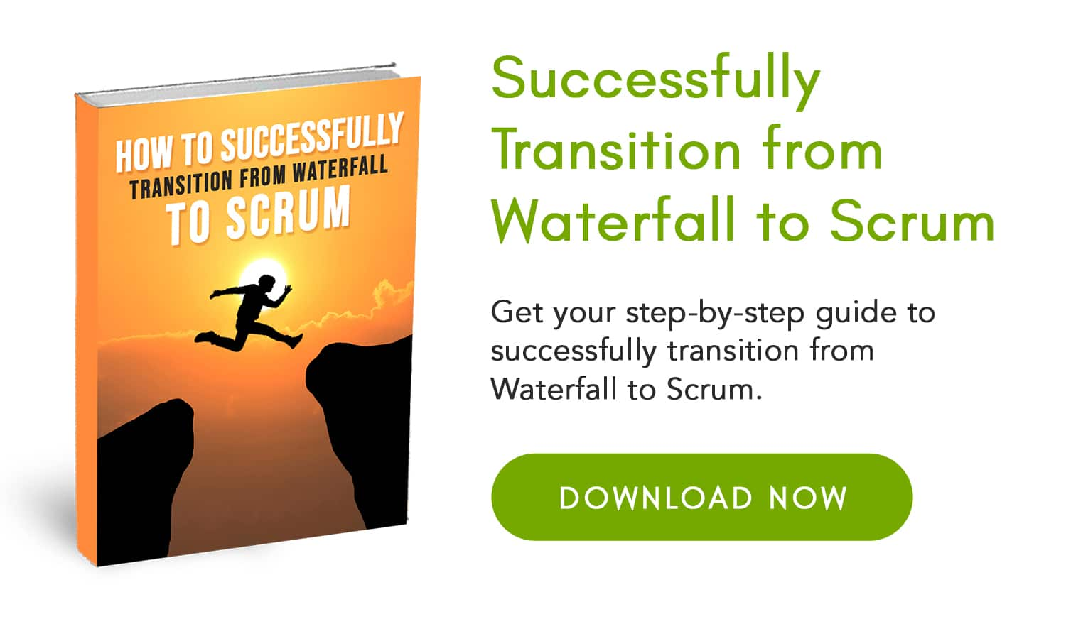 how to transition from waterfall to scrum