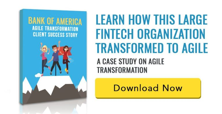 Agile Success Story for Bank of America