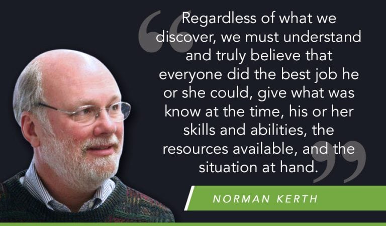 Norm Kerth's Prime Directive in Scrum Retrospective