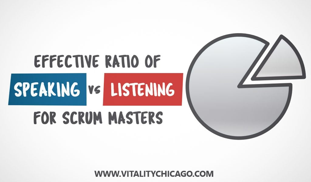 NEW Agile Coaches have to do more listening than speaking