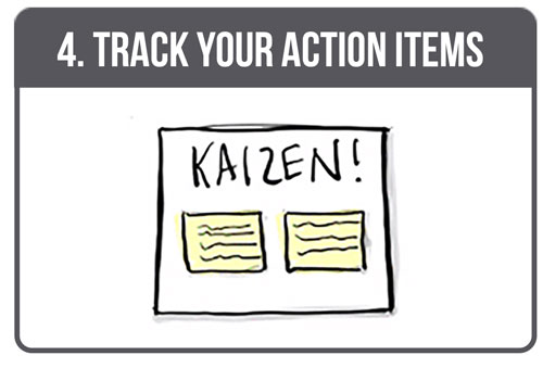 Track your action items