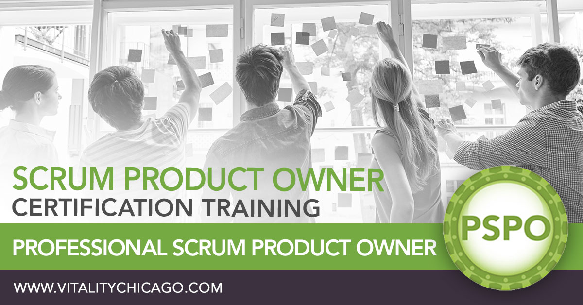Professional Scrum Product Owner mobile header