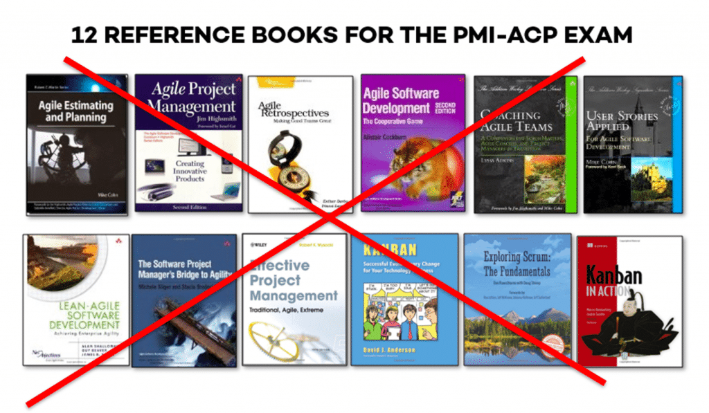 12 Reference Books for the PMI-ACP
