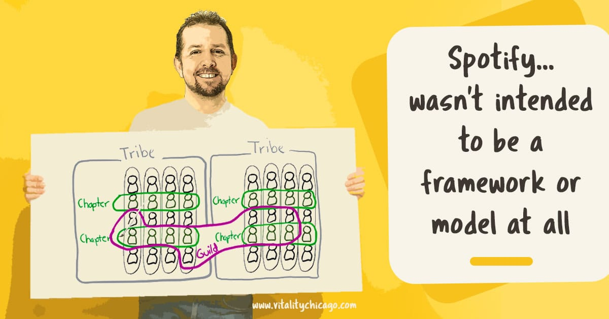 There Is No Spotify Model for Scaling Agile