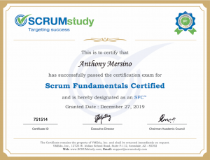 scrum fundamentals certified scumstudy
