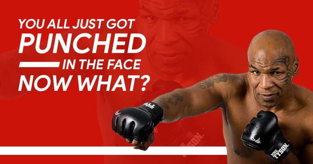 got punched in the face mike tyson