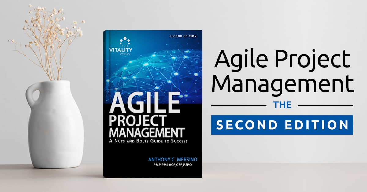 Announcing Agile Project Management – The Second Edition