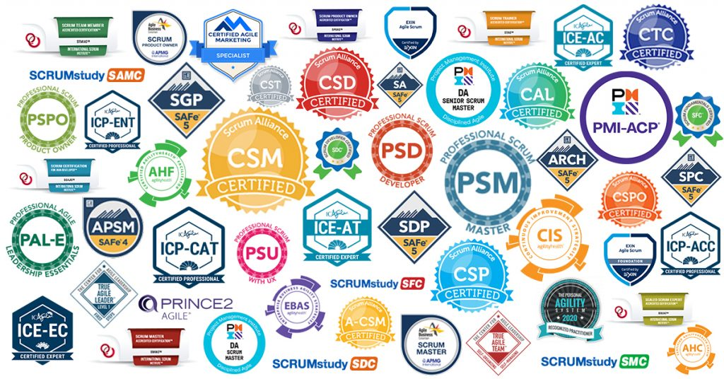 An Inventory of Agile and Scrum Certifications