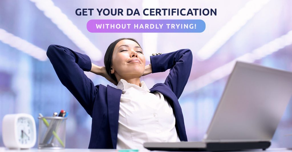 Get Your DA Certification Without Hardly Trying v2