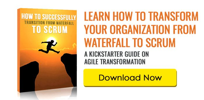 How to Move from Waterfall to Scrum v2018