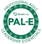 PROFESSIONAL AGILE LEADERSHIP ESSENTIALS TRAINING PAL-E logo